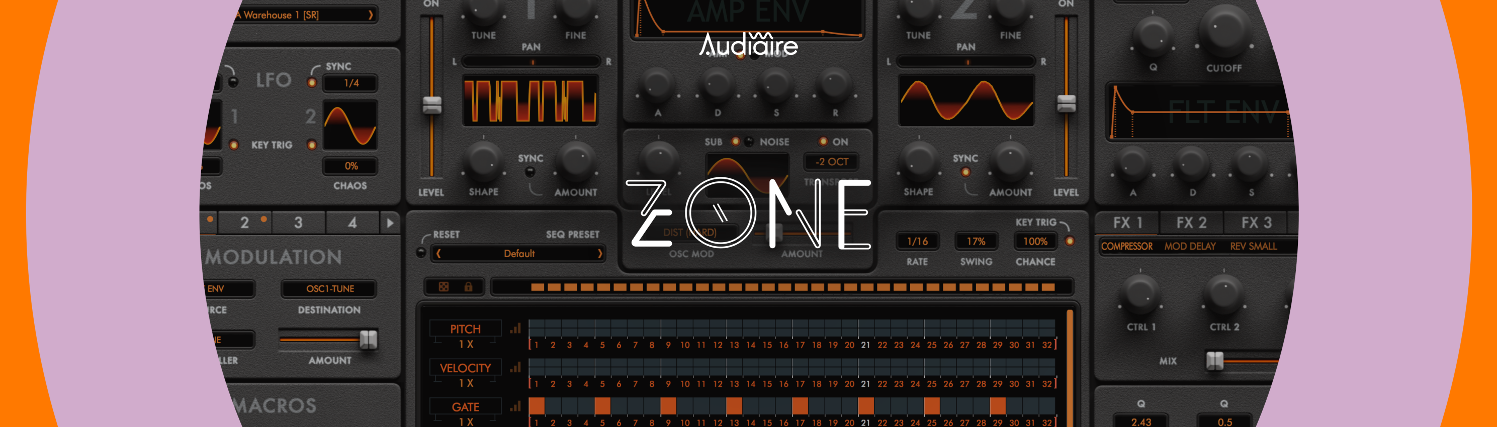 Audiaire Zone Synth