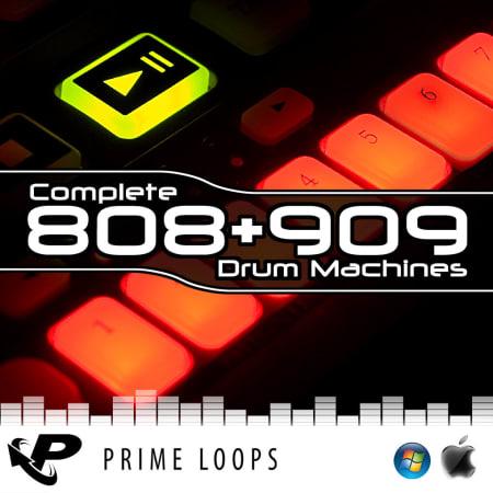 Complete 808 & 909 Drum Machines - Samples & Loops - Splice