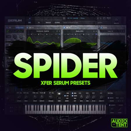 Spider Xfer Serum Presets - Samples & Loops - Splice Sounds
