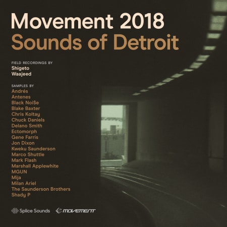 Splice Movement 2018 Sounds of Detroit WAV-FLARE