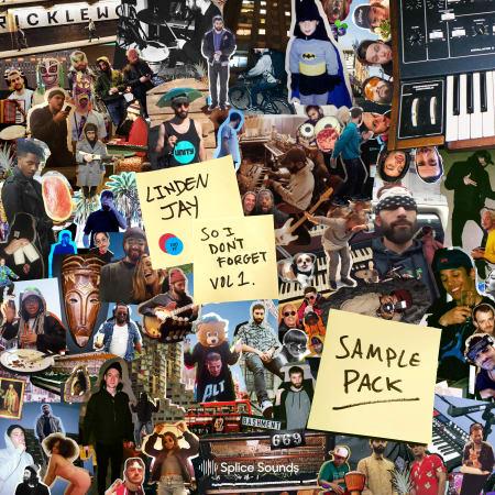 Splice Linden Jay So I Dont Forget Sample Pack WAV-DECiBEL