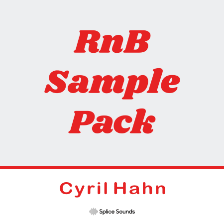 Splice RnB Sample Pack by Cyril Hahn WAV-DECiBEL