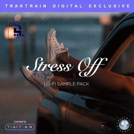 TrakTrain Stress Off Lo-Fi Sample Pack WAV