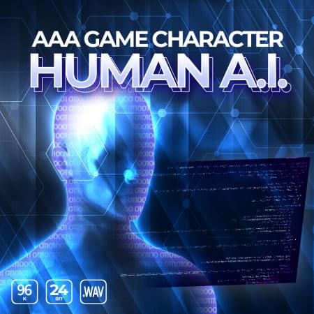 Epic Stock Media AAA Game Character Human AI WAV