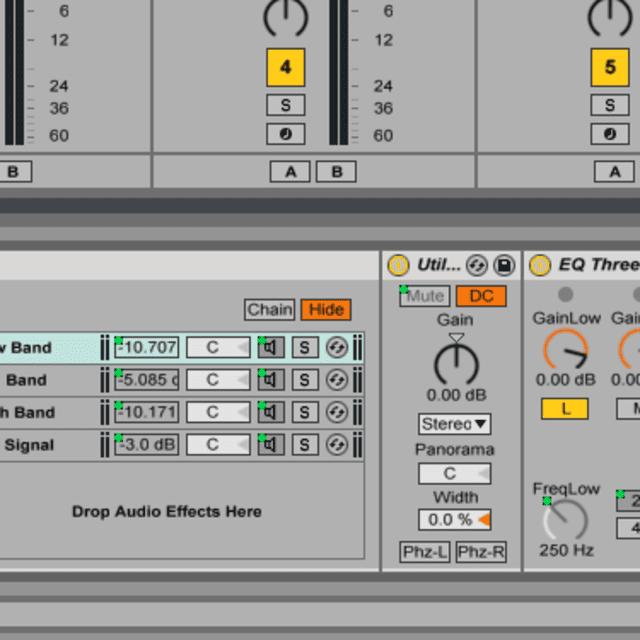 Build Multiband Processing Racks in Ableton Live 9 - Ableton Live