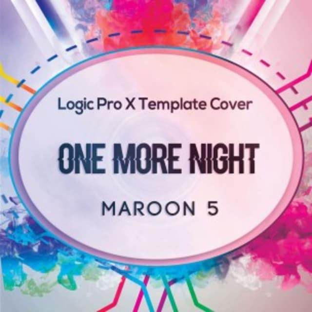 One More Night (Maroon 5) Logic Pro X Remake Template