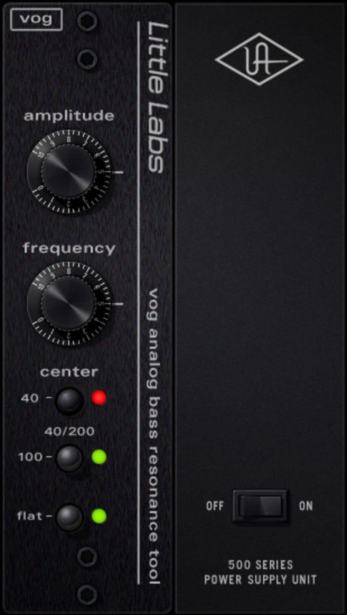 Universal Audio UAD Little Labs VOG by Universal Audio - Plugins (VST, AU) | Splice