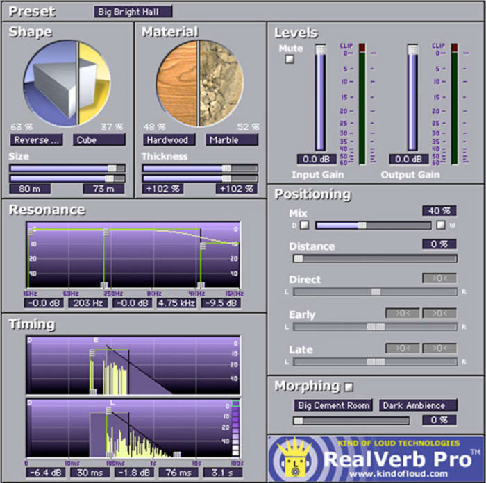 UAD RealVerb-Pro by Universal Audio - Plugins (VST, AU) | Splice