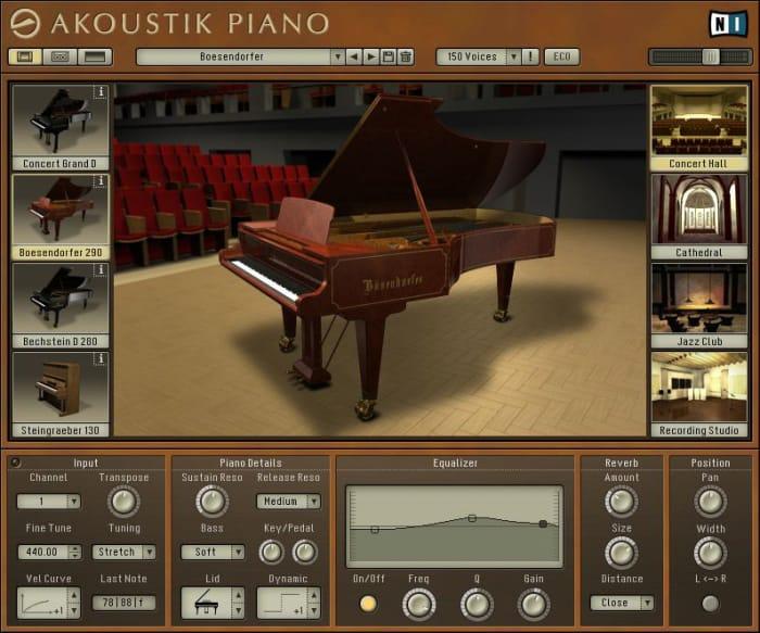 Akoustik piano download full.