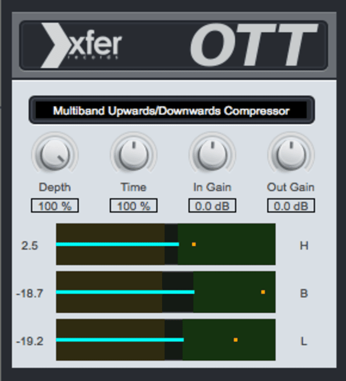 OTT by Xfer Records - Plugins (VST, AU) | Splice