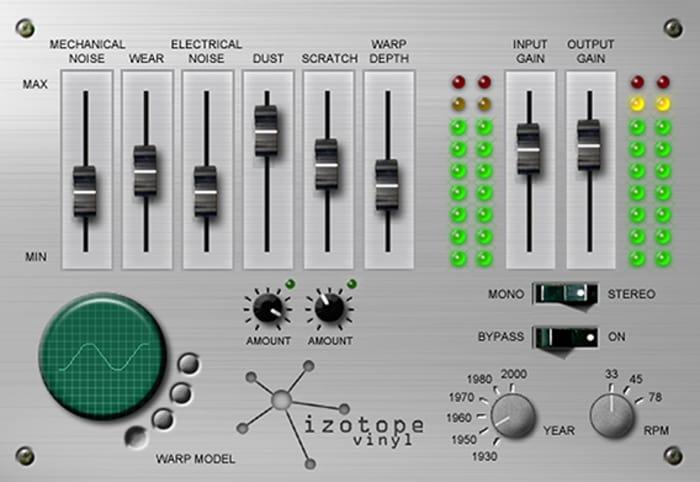 Vinyl by iZotope - Plugins (VST, AU) | Splice