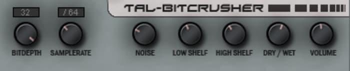 TAL-Bitcrusher by TAL-Togu Audio Line - Plugins (VST, AU