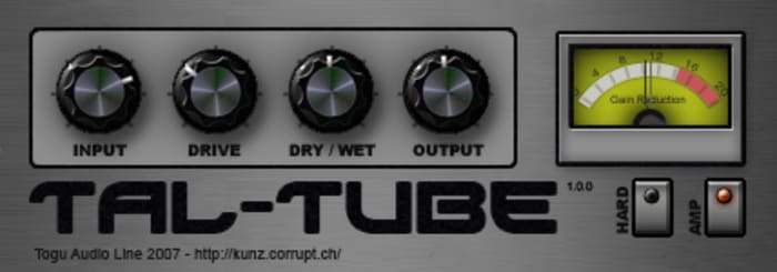 TAL-Tube by TAL-Togu Audio Line - Plugins (VST, AU) | Splice
