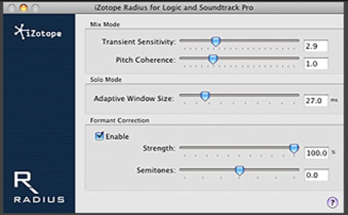 Radius for Logic by iZotope - Plugins (VST, AU) | Splice