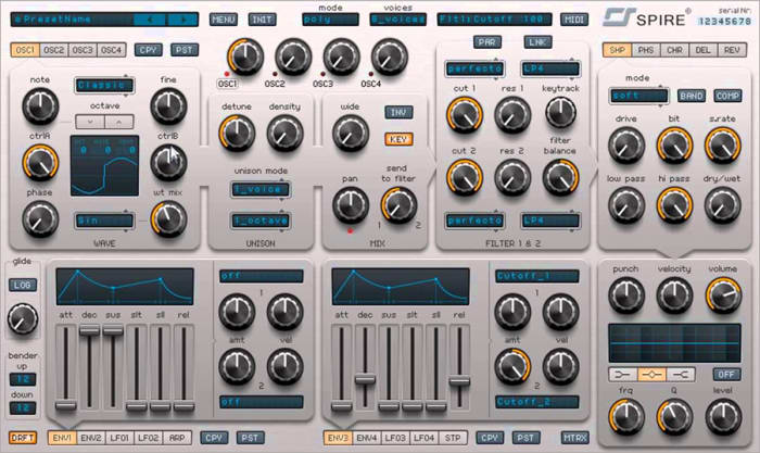 Spire by Reveal Sound - Plugins (VST, AU) | Splice