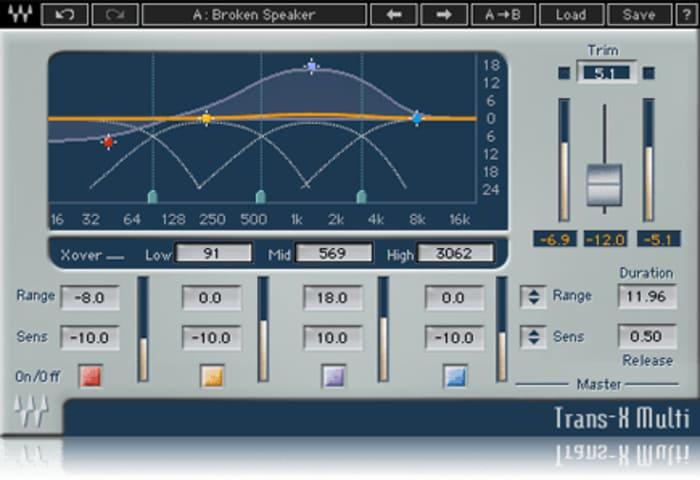 TransX by Waves - Plugins (VST, AU) | Splice