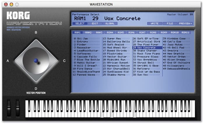 korg wavestation vst gratuit