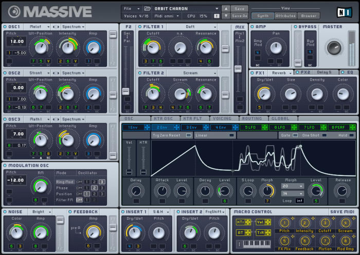 Massive by Native Instruments - Plugins (VST, AU) | Splice