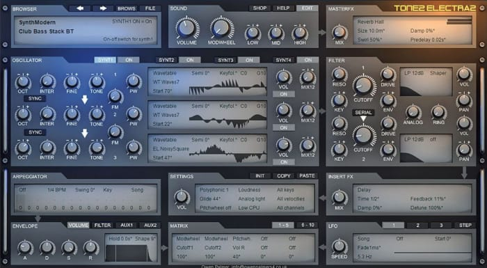 Electra2 by Tone2 - Plugins (VST, AU) | Splice