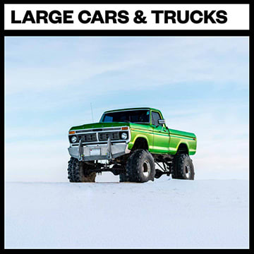 Large Cars & Trucks