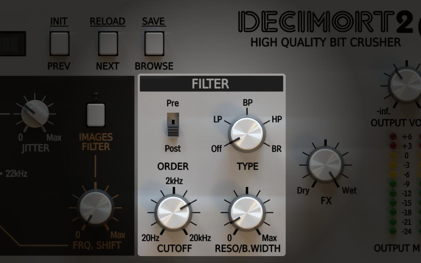 Decimort Fine Tuners